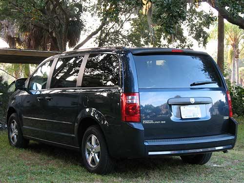 2008 Dodge Grand Caravan rear