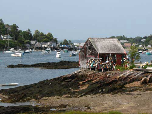 Famous view near Bailey Island, Maine