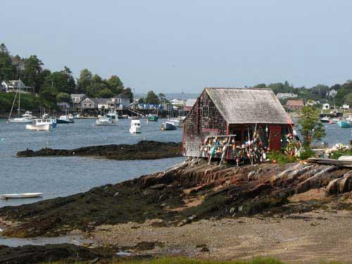 Famous view near Bailey Island, Maine