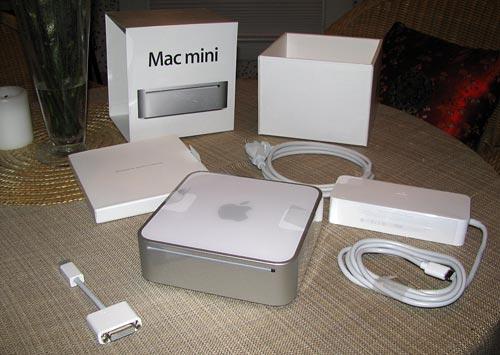 Mac mini 2009 unboxed