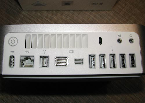 Mac mini 2009 port configuration