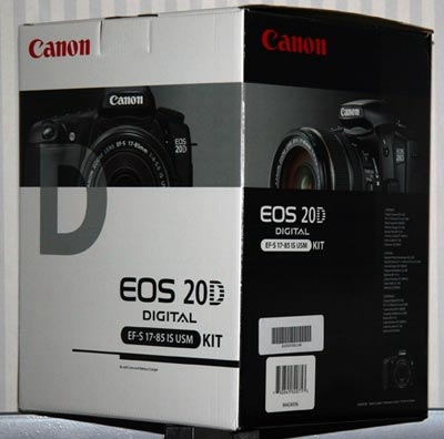 Canon EOS 20D & EF-S 17-85 IS USM Lens Kit